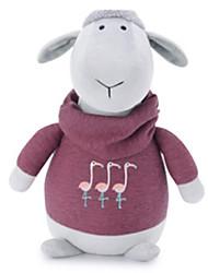 Недорогие -Мягкие игрушки Игрушки Лошадь Овечья шерсть Животный принт Животные Животные Детские Куски