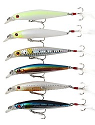 cheap -1 pcs Hard Bait Pencil Floating Bass Trout Pike Sea Fishing Spinning Jigging Fishing ABS / Freshwater Fishing / Carp Fishing / Bass Fishing / Lure Fishing / General Fishing