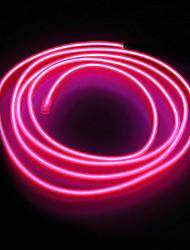 cheap -BRELONG 1 pc 5M Light String 0LED DC12V EL White /Red / Blue / Pink / Green / Orange / Light Blue