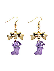 cheap -Women's Drop Earrings Sweet Hiphop Resin Alloy Geometric Jewelry For Daily Christmas
