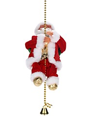cheap -Christmas Decorations Christmas Gift Christmas Toy Holiday Santa Suits Soft Plastic Braided Fabric Kid's Toy Gift