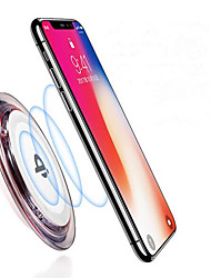 cheap -Non-slip Qi Wireless Charger for iPhone XS iPhone XR XS Max iPhone 8 Samsung S9 Plus S8 Note 8 Or Built-in Qi Receiver Smart Phone