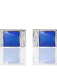 abordables -Boutons de manchettes Décontracté / Sport Bijoux de fantaisie Broche Bijoux Bleu Pour Mariage