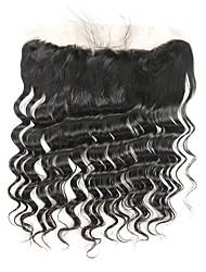 cheap -Peruvian Hair Loose Wave Remy Human Hair Natural Color Hair Weaves / Hair Bulk Human Hair Weaves Human Hair Extensions
