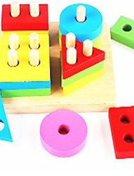 cheap -Montessori Teaching Tool Building Blocks Educational Toy School / Graduation School New Design Kid's Gift