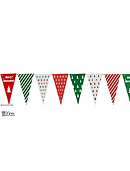 cheap -Christmas Decorations Christmas Flags Christmas Party Supplies Holiday Santa Suits Elk Santa Suit Kid's Adults' Toy Gift