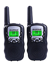 cheap -BAOFENG T3 Mini Handheld 1.5KM-3KM Walkie Talkie Two Way Radio Portable Intercom Support VOX Fuction 22CH