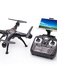 Недорогие -RC Дрон X5SW-1 10.2 CM 6 Oси 2.4G С HD-камерой 1.0MP 1080P*720P Квадкоптер на пульте управления Светодиодные фонарики / Возврат Oдной Kнопкой / Отказоустойчивость Квадкоптер Hа пульте Y