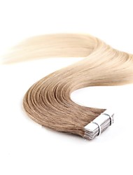 cheap -Neitsi Tape In Human Hair Extensions Classic Human Hair Human Hair Extensions Women's Beige Blonde /  / Bleached Blonde