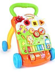 Недорогие -Игрушечные машинки Пианино Новорожденный Мягкие пластиковые Мини-автомобиль Транспортные средства Игрушки для вечеринки или подарок на день рождения для детей 1 pcs / Детские