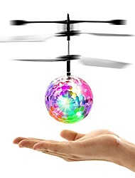 cheap -Mini Magic Flying Ball Flying Gadget Light Up Toy Flying Toy Plane / Aircraft Helicopter Spacecraft Remote Control / RC Glow in the Dark LED Flash Lighting Kid's Toy Gift / LED Light / Fluorescent