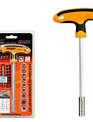 cheap -41 in 1 Car Repair Tools Kits Screwdriver Set Torx Sockets Kit T-handle Labor-saving Ferramentas Herramientas Hand Tools