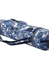 cheap -FODOKO 26 L Yoga Mat Bag / Bag / Phone / Keychain Charm - Yoga, Pilates, Fitness Travel Cotton Blue White, Sky Blue+White, Light Sky Blue