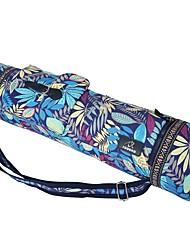 cheap -FODOKO 26 L Yoga Mat Bag / Bag / Phone / Keychain Charm - Yoga, Pilates, Fitness Travel Cotton Light Green, Sage, Fruit Green