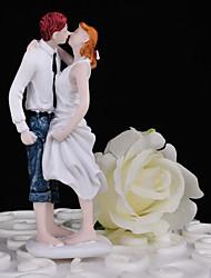 Недорогие -Украшения для торта Свадьба / Друзья Плексиглас Свадьба / Для вечеринок с Подарочная коробка