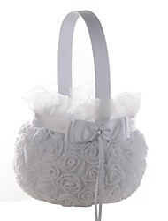 "cheap -Flower Basket Satin / Lace 9"" (23 cm) 1 pcs"