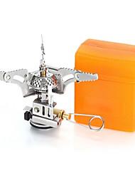 cheap -Camping Stove Lightweight Mini Cross Country for 2 person Stainless Steel Chrome Outdoor Camping / Hiking Outdoor Exercise Camping Silver
