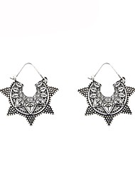 cheap -Women's Drop Earrings Star Vintage Fashion Earrings Jewelry Gold / Silver For Gift Daily 2pcs