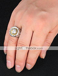 cheap -Women's Ring Signet Ring Gold Silver Copper Gold Plated Metal Vintage Hip-Hop Military Wedding Party Jewelry High School Rings Lion Class