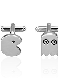cheap -Cufflinks Novelty Costume Jewelry Brooch Jewelry Silver For Wedding Sports & Outdoor