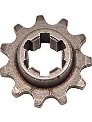 Недорогие -2-тактный t8f-11t мини-мотор грязи ямы велосипед передняя звездочка двигателя 33 49cc 8мм цепь