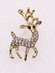 cheap -Men's Women's Brooches Animal Sweet Hip-Hop Brooch Jewelry Gold For Casual Evening Party