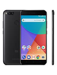 """Недорогие -Xiaomi Mi A1 5.5 дюймовый """" 4G смартфоны (4GB + 32Гб 12 + 12 mp Qualcomm Snapdragon 625 3080 mAh mAh) / 1920*1080"""