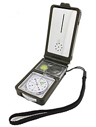 cheap -Compasses Directional Nautical ABS Camping / Hiking Camping / Hiking / Caving Trekking Army Green