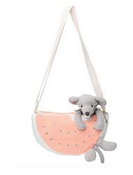 cheap -Mouse Fruit Animal Stuffed Animal Plush Toy Kids Animals Fruit One-Shoulder Messenger Bags Fashion Girls' Toy Gift 1 pcs