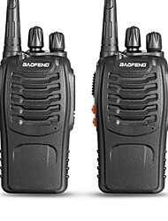 cheap -BAOFENG 2 Pcs BF-888S Handheld Low Battery Warning / PC Software Programmable / Voice Prompt 3KM-5KM 3KM-5KM 5 W Walkie Talkie Two Way Radio / 400-470MHz / VOX / Time Out Timer / Busy Channel Lockout