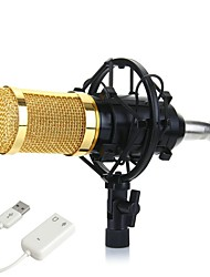 abordables -KEBTYVOR BM800 Câblé Microphone ensembles Microphone à Condensateur Microphone à Main Pour Polycarbonate