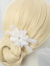 cheap -Chiffon / Alloy Hair Combs / Flowers with 1pc Wedding / Special Occasion Headpiece
