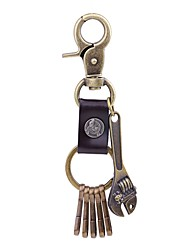 cheap -Keychain Rock Ring Jewelry Gold For School Street