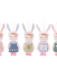cheap -18cm Rabbit Stuffed Animal Plush Toy Cute For Children Soft Traditional / Vintage Retro / Vintage Vintage Girls' Toy Gift 1 pcs / Child Safe / Non Toxic / Lovely