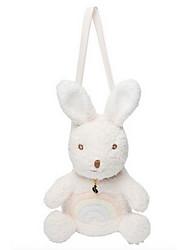 cheap -Rabbit Stuffed Animal Plush Toy Cute Kids Rabbit One-Shoulder Backpack Messenger Bags Girls' Toy Gift 1 pcs