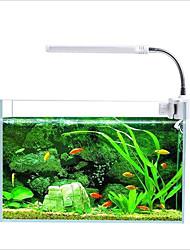 Недорогие -Оформление аквариума LED подсветка Аквариумы Разные цвета Пластик 360 Вращающаяся 110-220 V 1шт / #