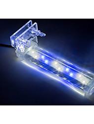 Недорогие -Аквариум Свет LED подсветка Свет аквариума Двойной цвет источника света Пластик 1.5,3,5,8,10 W 220-240 V