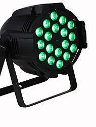 cheap -U'King Disco Lights Party Light LED Stage Light / Spot Light DMX 512 / Master-Slave / Sound-Activated 15 W Party / Stage / Wedding Professional RGB+White for Dance Party Wedding DJ Disco Show Lighting