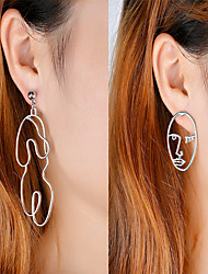 cheap -Women's Dangle Earrings Mismatched Personalized Fashion Euramerican Earrings Jewelry Gold / Silver For Daily Casual Going out