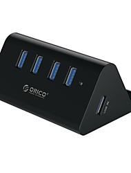 cheap -ORICO USB 3.0 to USB 3.0 USB Hub 4 Ports High Speed / Input Protection