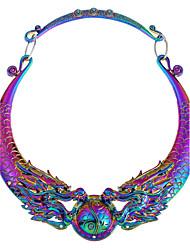 Недорогие -Жен. Заявление ожерелья Дракон Массивный Сплав Цвет радуги Ожерелье Бижутерия 1 Назначение Для вечеринок Повседневные