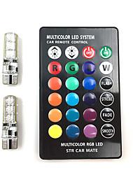 Недорогие -2pcs Автомобиль Лампы 1.5W SMD 5050 6 Лампа поворотного сигнала For Универсальный Все года