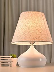 cheap -Artistic Eye Protection Table Lamp For Ceramic 220V White Black