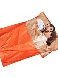 cheap -Subito® Emergency Blanket Emergency Sleeping Bag Outdoor Envelope / Rectangular Bag 26 °C Double Size Synthetic Waterproof Breathable Warm Heat Retaining Heat-Insulated Anti-tear Spring Summer Fall