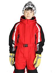 cheap -Ski Suit Ski / Snowboard Waterproof Windproof Warm Velvet Chiffon Clothing Suit Ski Wear / Winter / Kid's