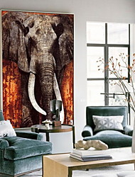 cheap -Animals Oil Painting Wall Art,Alloy Material With Frame For Home Decoration Frame Art Living Room