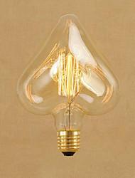 cheap -1pc 40 W E26 / E27 STAR Warm White 2300 k Retro / Decorative Incandescent Vintage Edison Light Bulb 220-240 V