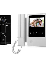 cheap -4.3 Inch Video Door Phone Intercom System Indoor Monitor with RFID Access Night vision Doorbell Camera