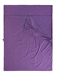 cheap -Naturehike Camping Sleeping Bag Liner Outdoor Camping Rectangle 10 °C Double Size Synthetic Portable Windproof Ultra Light (UL) Wear Resistance Spring &  Fall Autumn / Fall for Camping / Hiking