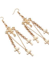 cheap -Women's Drop Earrings Dangle Earrings Oversized Gemstone Earrings Jewelry Gold / Silver For Party Prom